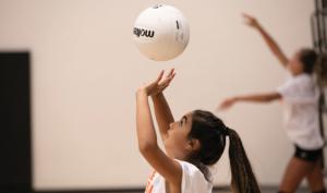 setting volleyball skill